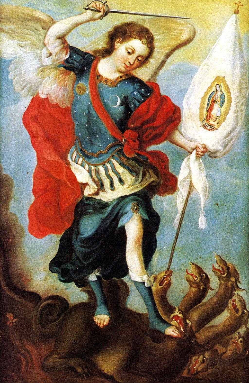 Oración fortaleza espiritual Arcángel San Miguel